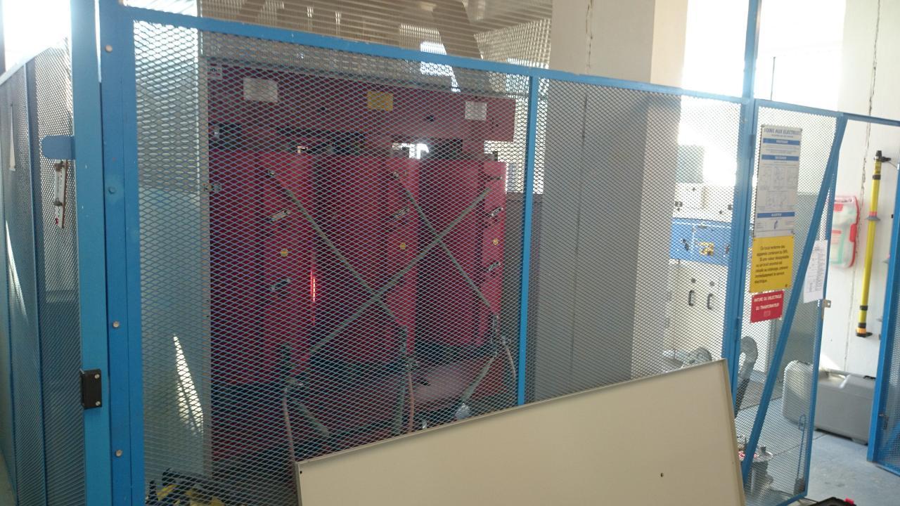 Maintenance  transformateur TRIHAL 1600KVA