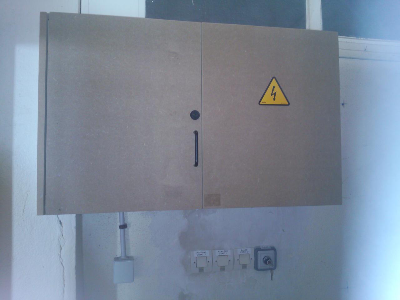 création d'un coffre de protection en médium